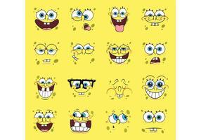 cartoni animati vettoriali spongebob