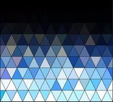 Priorità bassa del mosaico di griglia quadrata blu, modelli di design creativo vettore