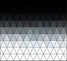 Grigio griglia quadrata bianca Mosaico, modelli di design creativo vettore