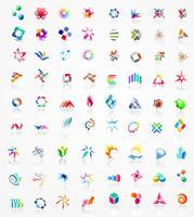 grafica del logo vettoriali stock