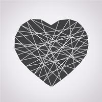 segno di simbolo dell'icona del cuore