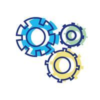 processo di ingegneria del settore ingranaggi a colori