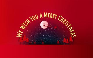 Buon Natale e Felice Anno nuovo. Vendita di Natale Sfondo di vacanza stile artigianale.