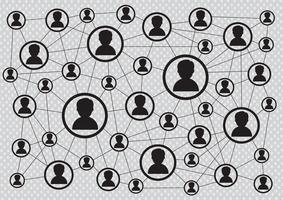 Connessione di rete Simbolo Segno vettore