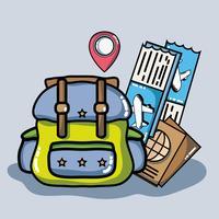 viaggio di destinazione di avventura al turismo di vacanza