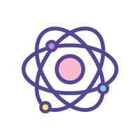 educazione fisica dell'orbita dell'orbita fisica vettore