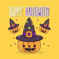 Happy cartoni animati di halloween
