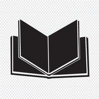 Libro icona simbolo segno