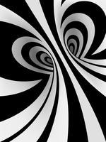 Sfondo a spirale ipnotica vettore