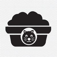 Icona di cibo per gatti per animali domestici