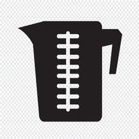 Icona della tazza di misurazione