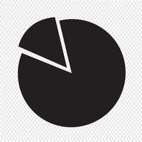 Semplice icona diagramma e grafico