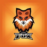 Logo della testa di volpe