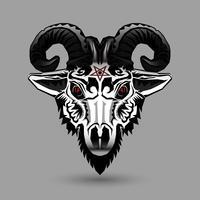 Testa di capra demone