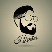 Stile di simbolo di hipster vettore