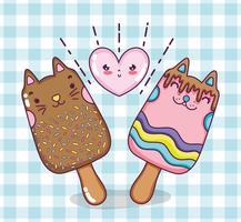 Gatti e gelati