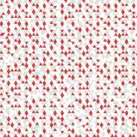 Fondo astratto bianco rosso della decorazione del modello di triangolo di colore grigio. vettore eps10