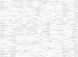 Piccola progettazione nera astratta del modello di pois su fondo bianco. illustrazione vettoriale eps10