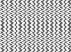 Fondo grigio e bianco della decorazione del modello astratto di esagono. illustrazione vettoriale eps10