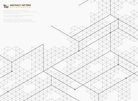 La linea quadrata moderna astratta struttura il disegno del modello di fondo geometrico. illustrazione vettoriale eps10