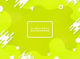 Fondo geometrico astratto dell'elemento di progettazione di vettore di colore verde vivo astratto. illustrazione vettoriale eps10