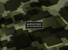 Fondo militare astratto del modello di colore verde del puzzle. Decorazione moderna del materiale illustrativo difensore dell'esercito. È possibile utilizzare per la copertura, pubblicità, poster, opere d'arte, stampa. vettore