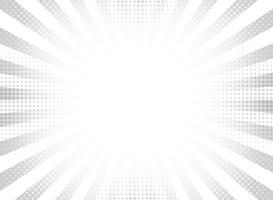 Priorità bassa di semitono grigio astratto raggi cerchio. vettore