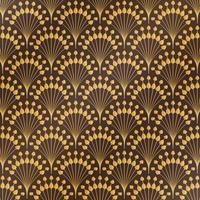 Fondo floreale del modello di art deco di lusso dell'oro classico astratto antico. È possibile utilizzare per lo stile di copertina, stampa, annuncio, poster, opere d'arte.