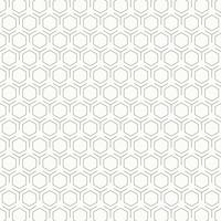 Fondo in bianco e nero d'annata astratto di progettazione del modello di esagono. illustrazione vettoriale eps10