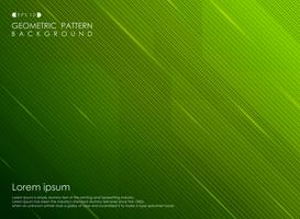 Affare astratto di progettazione della linea di verde di pendenza del fondo. vettore