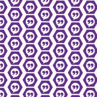 Fondo del modello Icona del segno di Blockquote