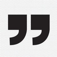 Icona del segno di citazione