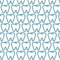Sfondo del modello del dente vettore
