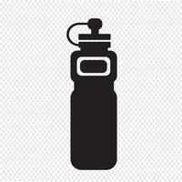 icona sport bottiglia d'acqua