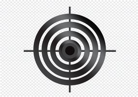 Icona di destinazione Simbolo Segno