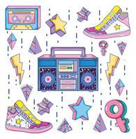 Pop art Cartoni degli anni '90