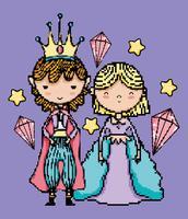 personaggio del videogioco di pixel art