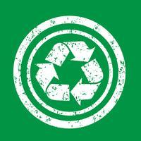 Ricicli il segno simbolo segno