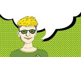 Persone che pensano e persone che parlano con il fumetto