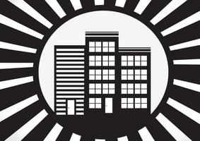 Icona domestica e concetto del bene immobile