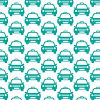 Taxi Car Pattern di sfondo