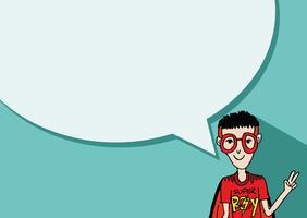 Persone che pensano e persone che parlano con i fumetti di dialogo