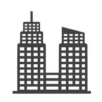 Icona di edificio per uffici