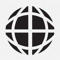 Icona del globo terrestre