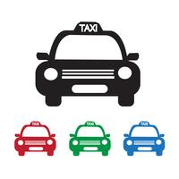 Icona di taxi