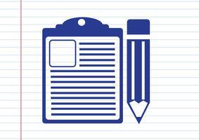 icona della lista di controllo Simbolo Segno