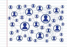 Connessione di rete Simbolo Segno