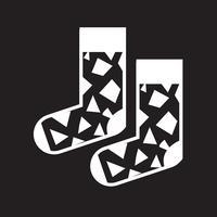 Calzino icona simbolo segno