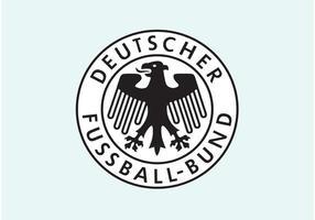 Bund di fussball deutscher vettore
