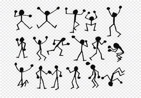 icone di attività della gente nell'illustrazione